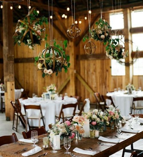 décoration mariage fête champêtre