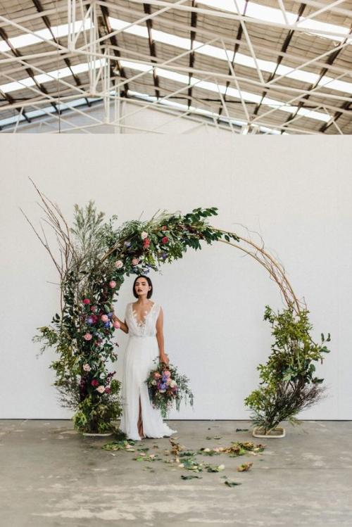 décoration mariage fête dans une grande salle