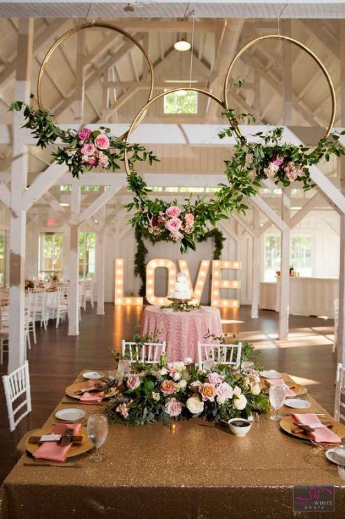 décoration mariage une fête champêtre