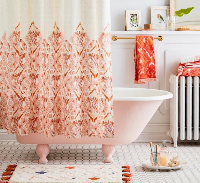 décoration tendance style maximaliste salle de bains
