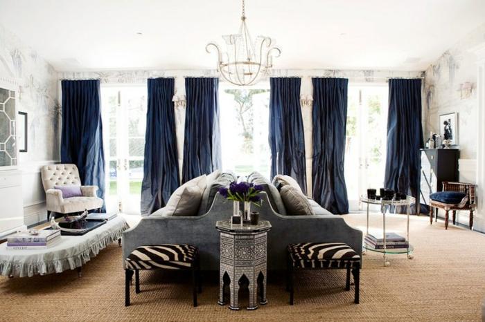 décoration tendance style maximaliste salon moderne