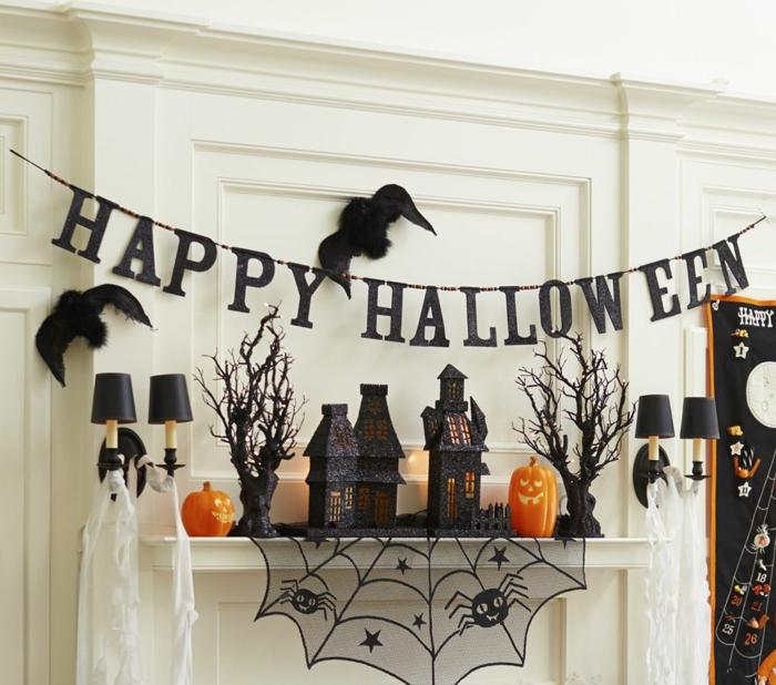 décorer la maison fête d'halloween