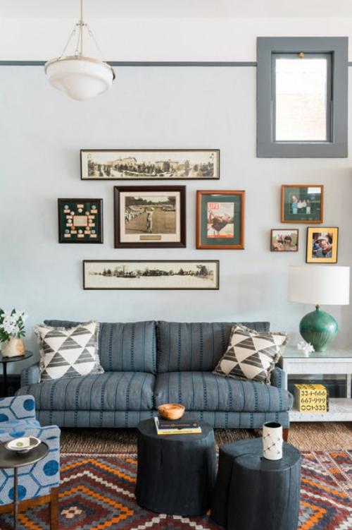 décoration tendance automne 2018 couleur grise pour les meubles