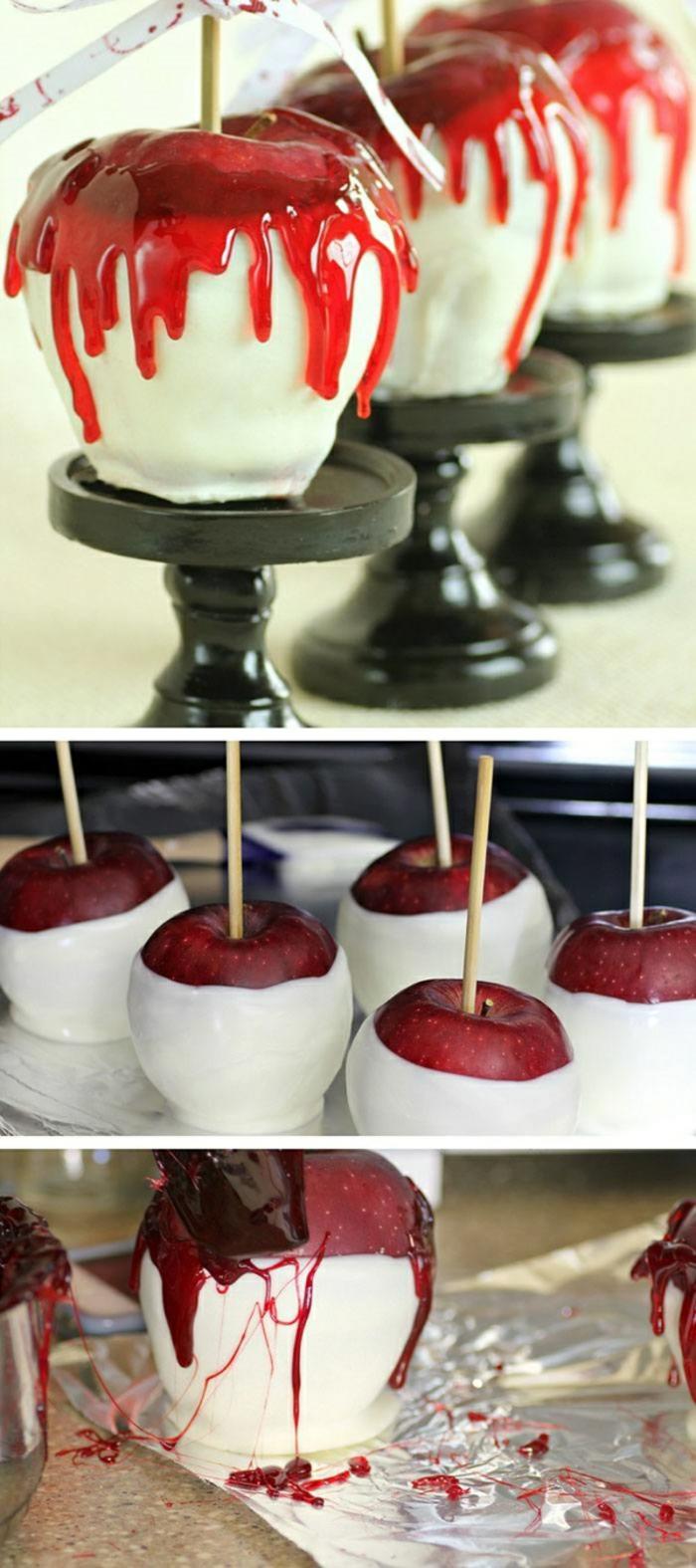 diy déco avec des fruits idée recette halloween