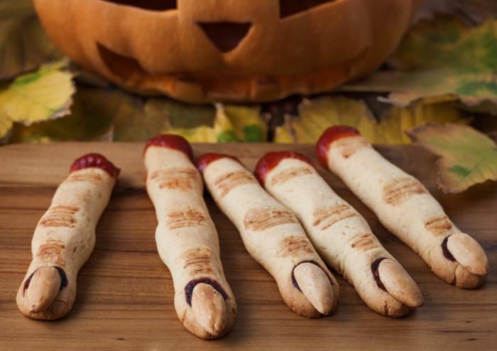 diy idée recette halloween doigts