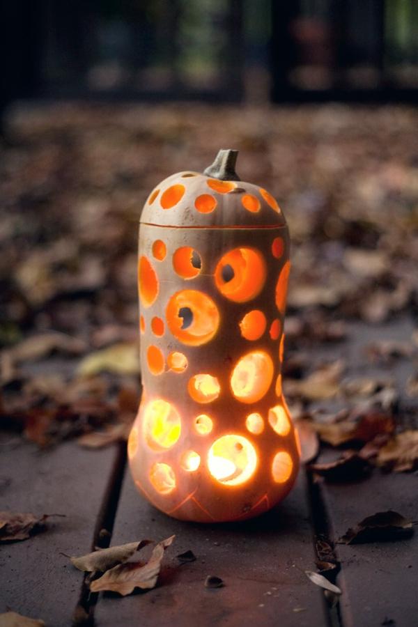 diy lanterne creuser une citrouille pour halloween