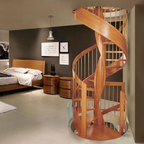 escalier hélicoïdal pour quelques niveaux