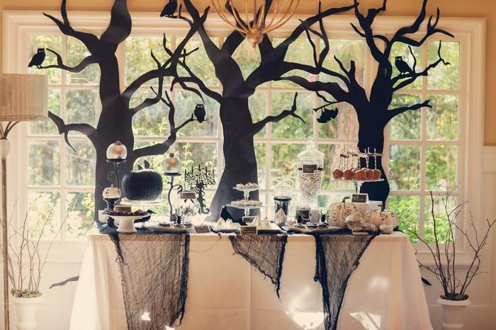 fête d'halloween idée de décoration