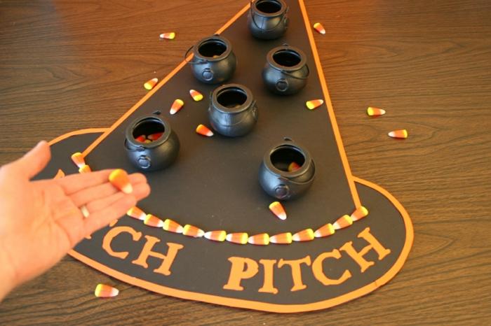 fête d'halloween idée de jeu