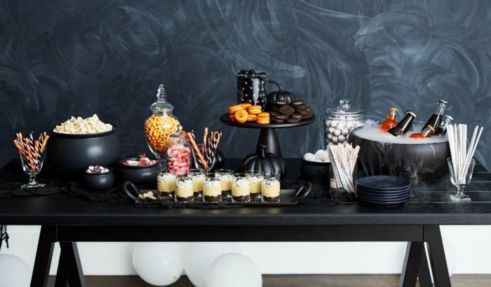 fête d'halloween idée de menu
