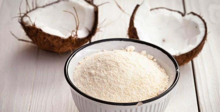 farine de coco par quoi remplacer la farine de blé