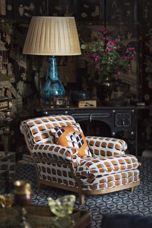 fauteuil relax couleurs sobres