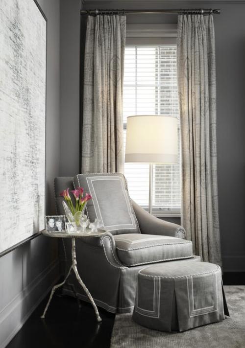 fauteuil relax ensemble en gris
