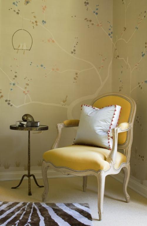 fauteuil relax tableau idyllique