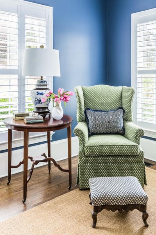 fauteuil relax tissu à points
