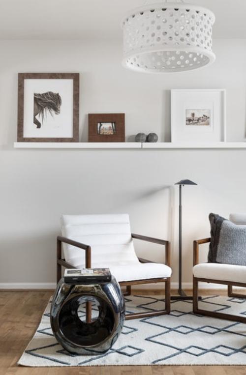fauteuil relax une pièce claire