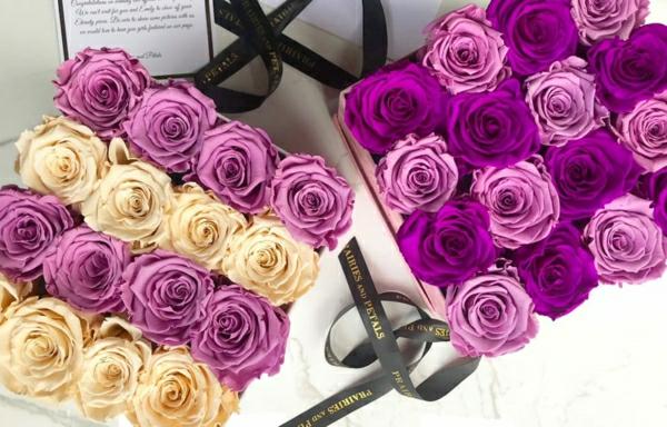 fleurs en boîte cadeau comment conserver une rose