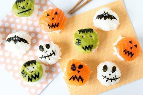 gâteaux Halloween des amuse-gueules appétissants
