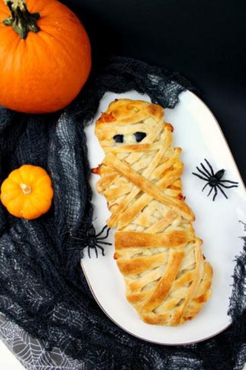 gâteaux Halloween une momie à croquer