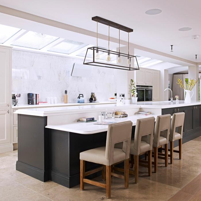 Kitchen Perfect For Kitchen And Small Area With 3 Piece: Cuisine équipée Avec îlot