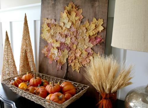idée activité manuelle automne créative