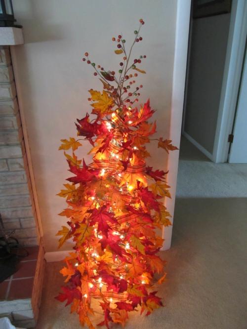 idée activité manuelle automne diy arbre d'automne