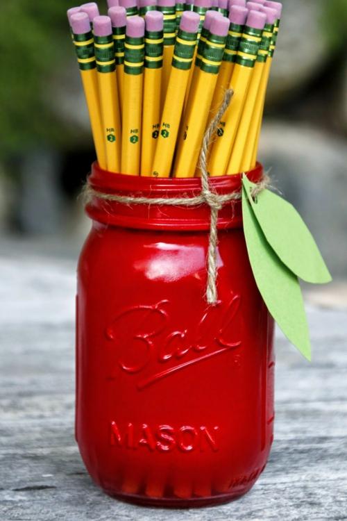 idée activité manuelle automne diy range-crayons