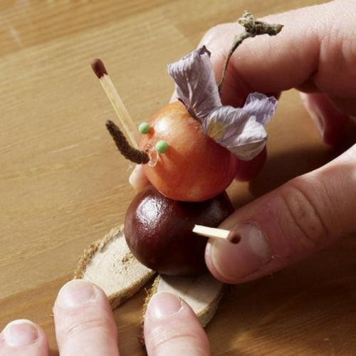 idée activité manuelle automne enfants figurines diy