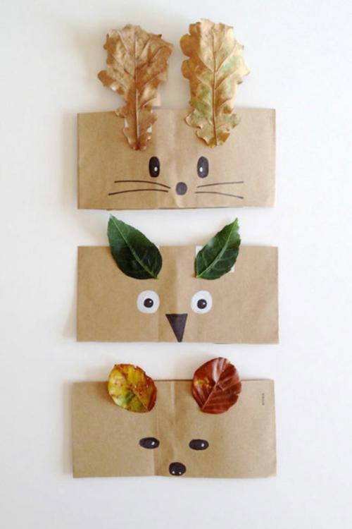 idée activité manuelle automne pour enfants
