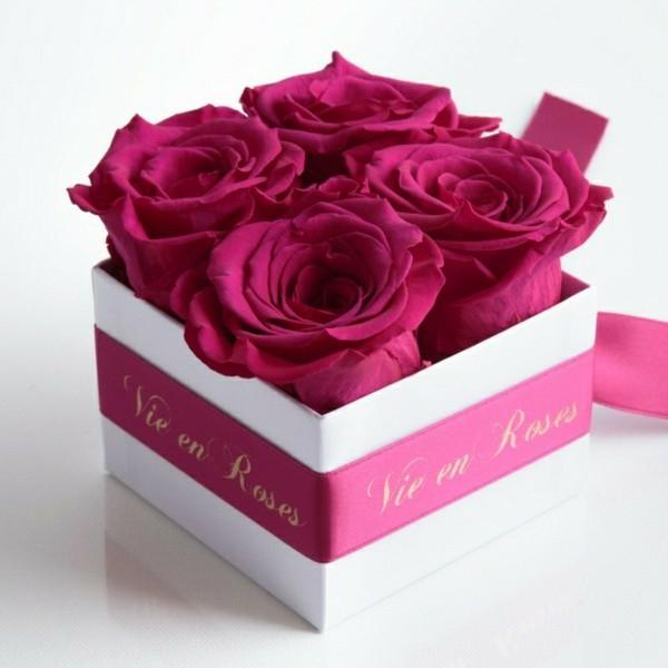 idée cadeau saint valentin comment conserver une rose