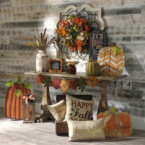 idée créative activité manuelle automne