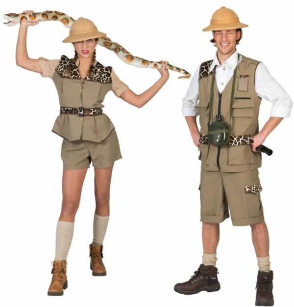 idée de déguisement couple halloween archéologues