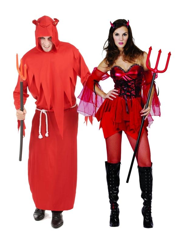 idée de déguisement couple halloween diables