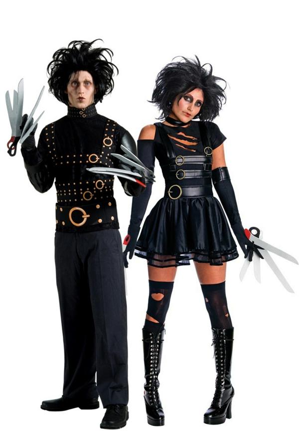 idée de déguisement couple halloween edward scissorhands