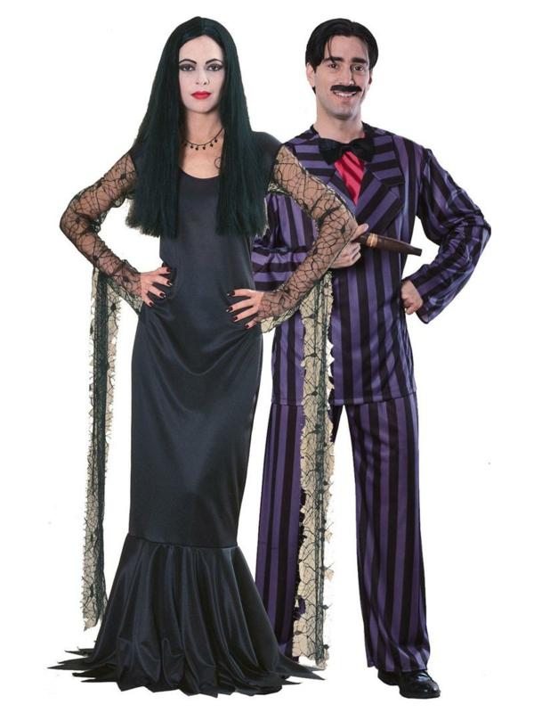 idée de déguisement couple halloween la famille adams