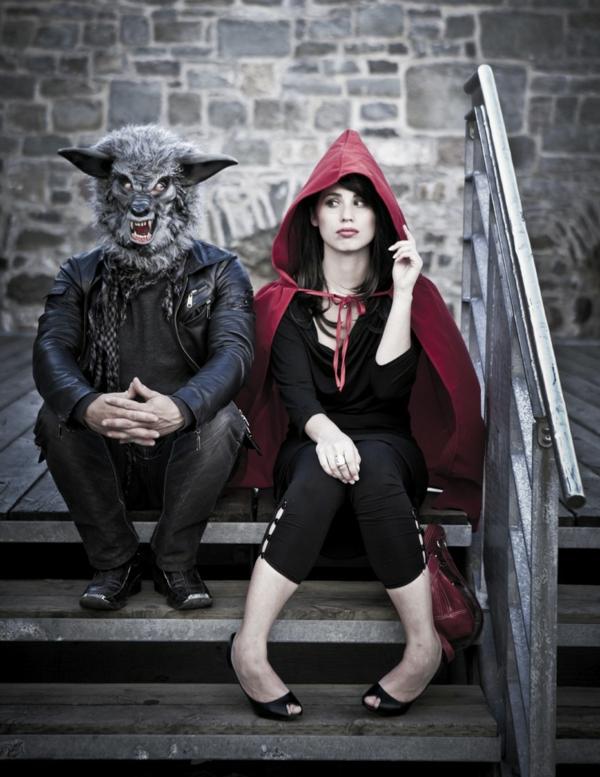 idée de déguisement couple halloween le petit chaperon rouge et le loup