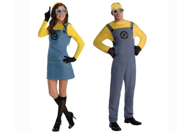 idée de déguisement couple halloween les minions