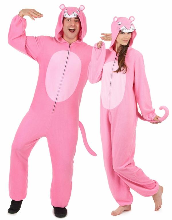 idée de déguisement couple halloween panthères roses