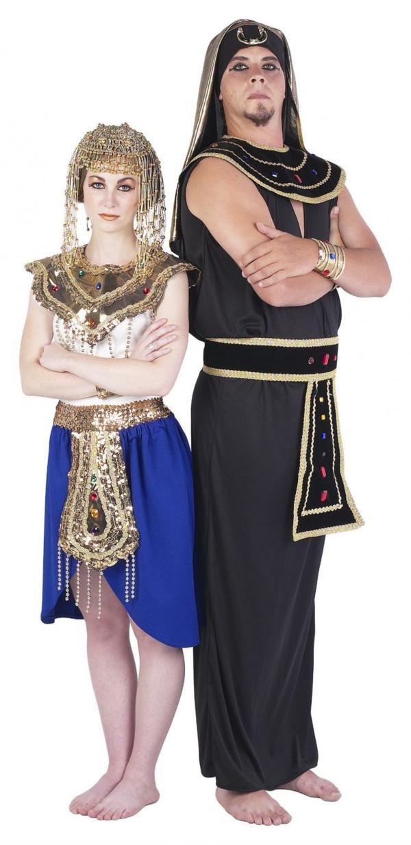 idée de déguisement couple halloween pharaons