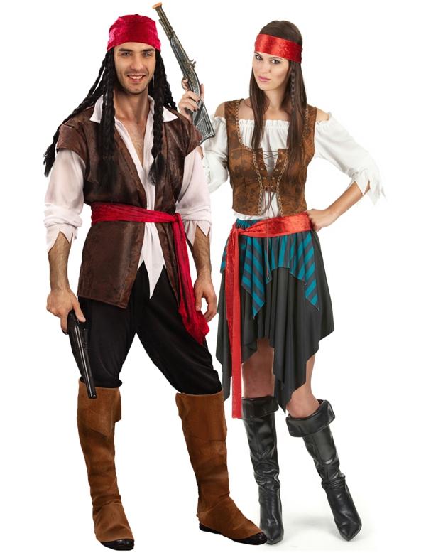 idée de déguisement couple halloween pirates