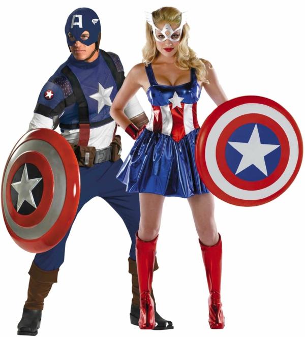idée de déguisement couple halloween superhéros