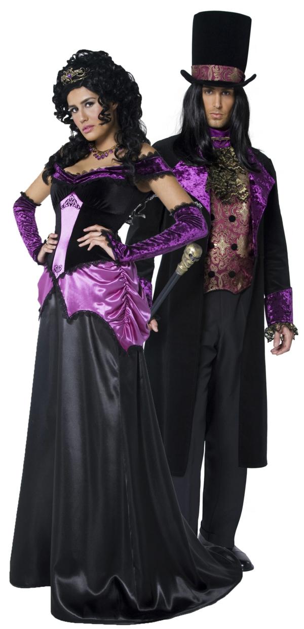 idée de déguisement couple halloween vampires