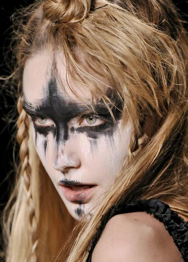 idée de maquillage pour halloween facile à réaliser