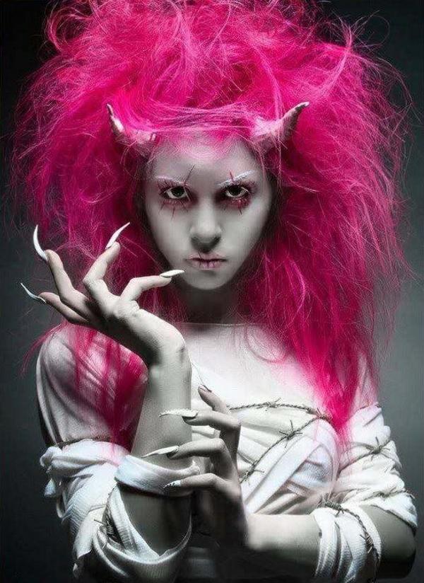 idée de maquillage pour halloween femme