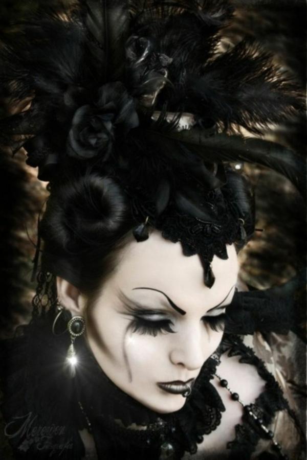 idée de maquillage pour halloween sorcière méchante