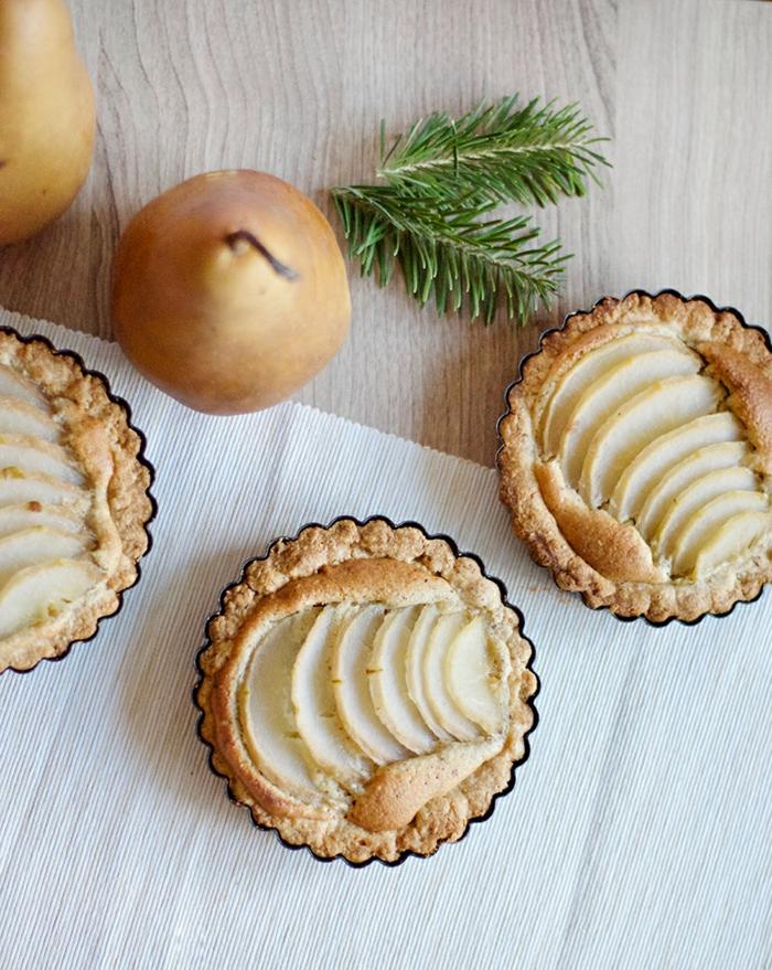 idée dessert tarte amandine aux poires