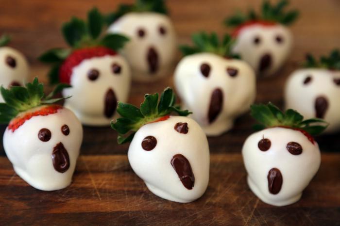 idée recette halloween avec des fraises