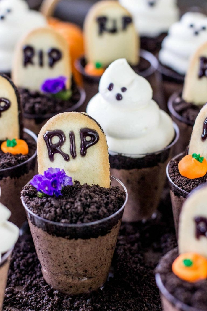 idée recette halloween dessert