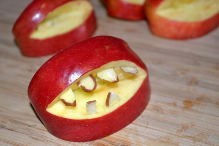 idée recette halloween facile avec des pommes