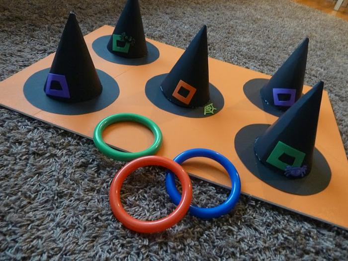 jeu amusant fête d'halloween